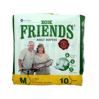 Disposable Adult Diaper-Friends AD 10's Easy - Medium