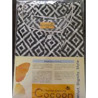 Night Dress - Front Open - CT - Large - Cocoon