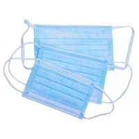 Face Mask - 3 layer Blue, 1