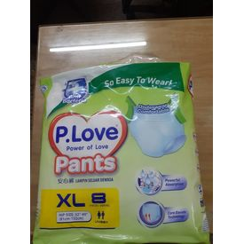 Pull up Diaper - P. Love - XL
