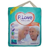 Disposable Adult Diaper - P. Love - Large