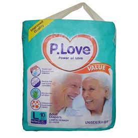 Disposable Adult Diaper - P. Love - Large