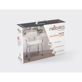 Shower Chair - Luna (Armrest and backrest) M406