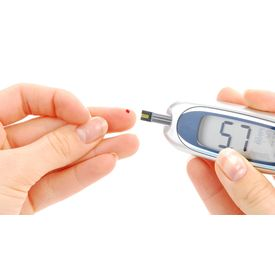 Blood glucose measuring device