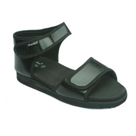 Diabetic footwear - For Women - Flora Black, 7