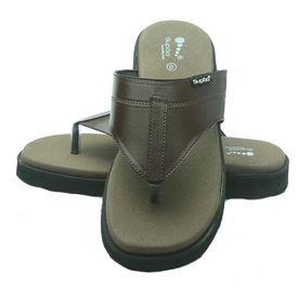 Diabetic footwear - For Men - Macho - Brown, 9
