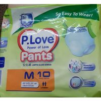 Pull up Diaper - P. Love - Medium