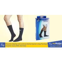 Diabetic Socks, blue