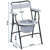 Simple foldable commode chair(899)