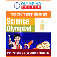 Class 3 Science Olympiad - 22 Mock tests (Printable Worksheets)