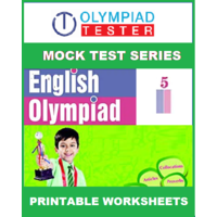 Class 5 English Olympiad - 75 Printable Worksheets