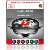 "Class 3, "" LIVE"" online mental ability tests for Olympiad preparation"