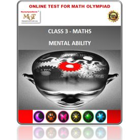 Class 3,   LIVE  online mental ability tests for Olympiad preparation