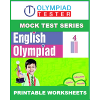 Class 4 English Olympiad - 170 Printable Worksheets