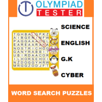 Class 2 Daily Word Search Puzzles - 200 Worksheets