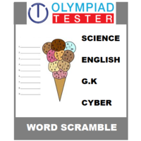 Class 5 Daily Word Scramble - 200 Printable puzzles