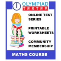 Class 6 Maths Olympiad Course (Online test series+ Printable Worksheets+ Community Membership)