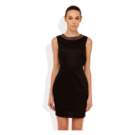 Street 9 Embellished For Fun Dress, s,  black
