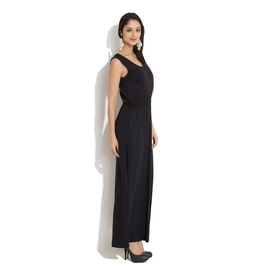 Amari West Touch Of Crochet Maxi Dress, xs,  black