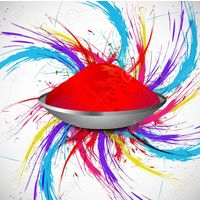 Holi Organic color,  red