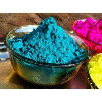 Holi Organic color,  blue