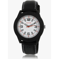Sonata 7984Pp01 Black/White Analog Watch