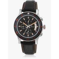 Maxima Attivo Collection Black/Black Chronograph Watch