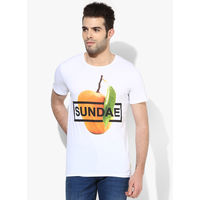 United Colors of Benetton Sundae T-Shirt, xl,  white
