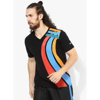 Admiral Kalos Graphic V Neck T-Shirt, xl,  black