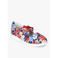 D'chica Multicoloured Floral Sneakers, 27