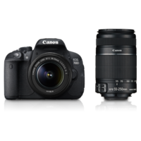 Canon EOS 700D (18-55mm ISII+ 55-250mm ISII) DSLR Kit