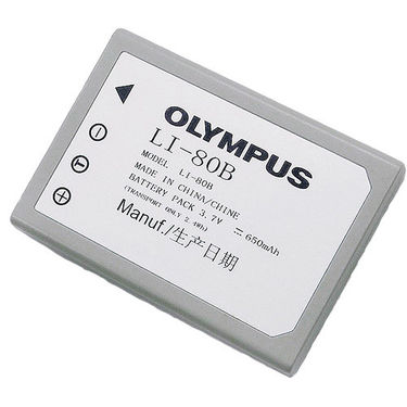 Olympus LI-80B Rechargeable Li-Ion Battery for T-100 Cameras