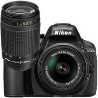 Nikon D5300 (18-55mm+ 70-300mm) DSLR Kit