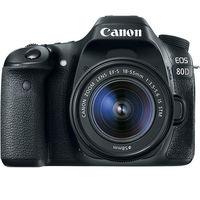 Canon EOS 80D (18-55mm f/3.5-5.6 IS STM) DSLR Kit