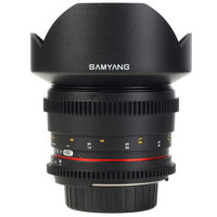 Samyang 14mm T3.1 ED AS IF UMC VDSLR Lens for Canon, Nikon