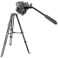 Manfrotto 701HDV, MVT502AM - Video Telescopic Twin Leg Kit