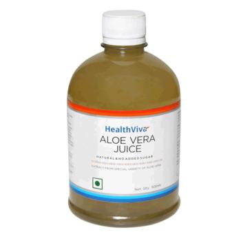 HealthViva HealthViva Aloe Vera Juice, pet bottle, 500 ml