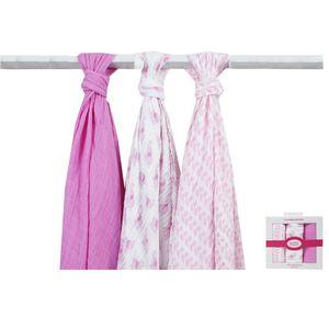 Muslin Swaddle Blankets 3PK, baby neutral