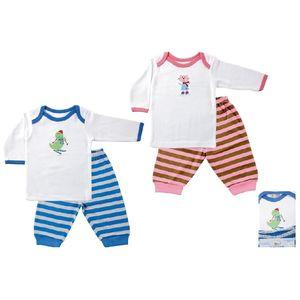 Long Sleeve Tee Top & Pants, baby neutral