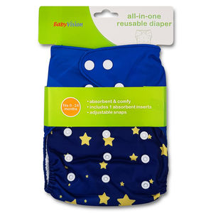 BabyVision - All In One Printed STARS Diaper Pack, baby boy