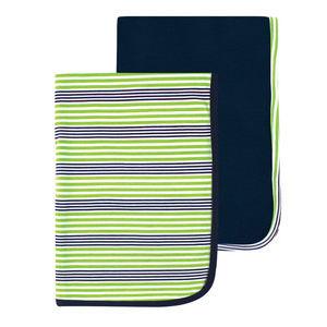 Interlock Blanket 2 Pcs, baby neutral