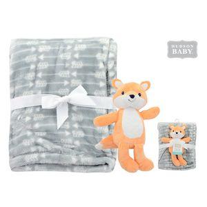Plush Blanket & Toy - Boy Fox, baby neutral