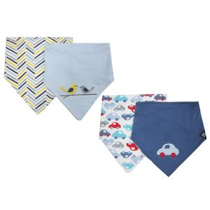 2 Bandana Bibs, baby neutral