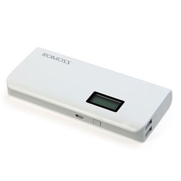 Romoss Power Bank,  white