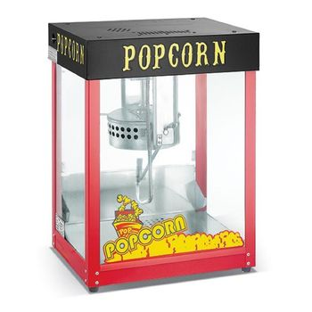 The Urabn Kitchen Durable 8oz Deluxe Gas Popcorn Popper Maker Machine Commercial Quality Style Popcorn Popper Machine with 8-Ounce Kettle
