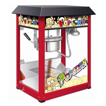 THE URBAN KITCHEN Red 8 Ounce Popcorn Machine