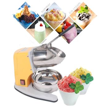 THE URBAN KITCHEN Heavy Duty Ice Shaver Machine Electric Snow Cone Maker