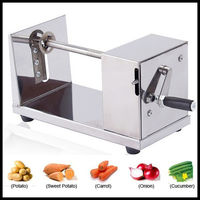 THE URBAN KITCHEN Stainless Steel Tornado potato machine potato spiral cutting machine potato cutter machine/potato chips machine