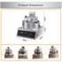 THE URBAN KITCHEN Gas Popcorn Machine UK-GSPCM07 375 g Popcorn Maker (Metalic