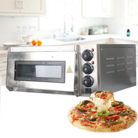 THE URBAN KITCHEN Commercial Use Electric Pizza Oven With Timer for Making Bread Cake and Pizza